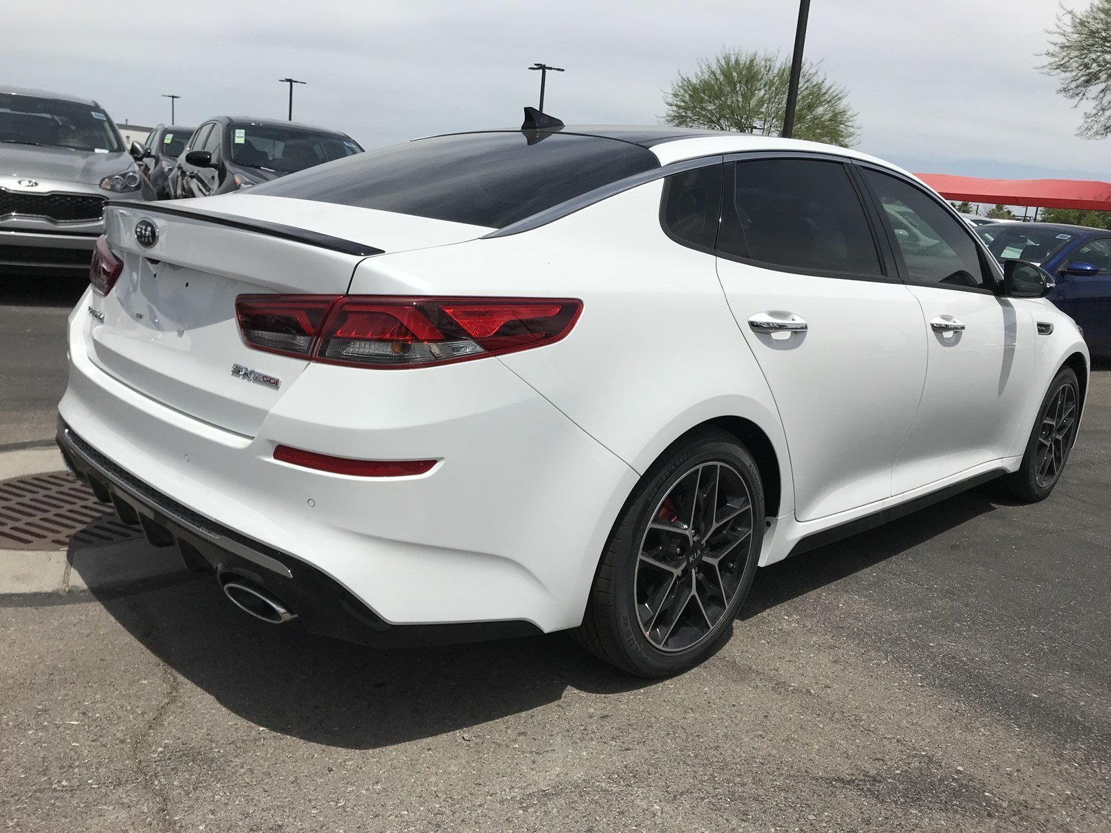 New 2019 Kia Optima SX