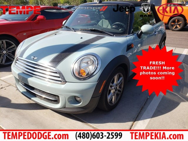 Pre-Owned 2013 MINI Cooper Convertible Base